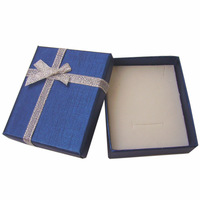 Hot sales! Free shipping  90 pcs 7x8x2.2cm 3 color available  ring box jewelry box with silver ribbon