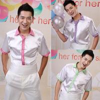 Male shirt male formal dress shirt formal dress shirt half sleeve male shirt