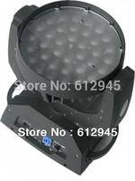 Promotion 36 pcs 4 in 1 10w RGBW leds zoom led moving head wash 36 light