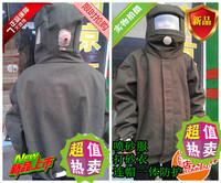 Clothing protective clothing sandblasting service canvas cap sandbars clothing bunny suit