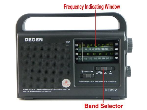 10 pcs degen de392 fm,/tv. mw sw dynamo et solaire d'urgence radio récepteur monde a0799a alishow