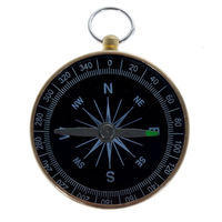 Best Solid and Durable Gold Prismatic Compass For Outdoor Activities out1341