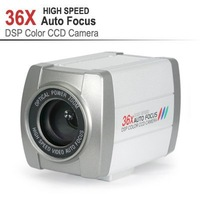 CCTV 650TVL 1/4 inch SONY CCD 36X Optical Zoom DSP Color Video Camera Auto Focus,36X High Speed Auto Focus DSP,free shipping!