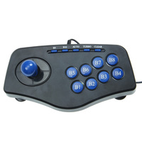 Wholesale ! Digi-usb Shock Arcade-game Controller Joystick  Game Pad PC Computer MAME Balck for game enthusiasts  Free shipping