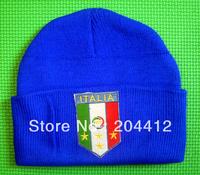ITALY ITALIA SOCCER TEAM WINTER HAT CAP BEANIE blue #2