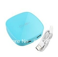 Freeshipping!!! 10pcs 7000mAh Portable External Battery Charger Power Bank USB for Cell Phone