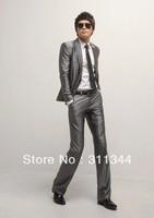 new men's suits single-breasted bussiness suit men's dress suits  cotton