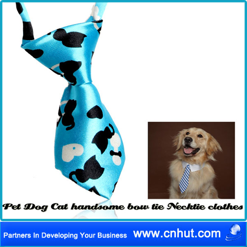 Free Shipping 100 PCS Adjustable Dog Pet Cat Kid Necktie Bow tie Bow knot Tuxedo Costume 002(China (Mainland))