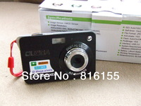 NRG 12 Pixel Digital Camera 8X Optical zoom 2.7'' TFT Screen With Rechargable battery AC Charger Free Shipping