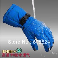 wholesale Waterproof Snow Gloves Winter Motorcycle Cycling Ski Snowboarding Non-slip Glove Outdoor Sports Free Shipping