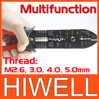 MULTIFUNCTIONAL CRIMPING PLIERS,(Thread: M2.6, 3.0, 4.0, 5.0mm) 4 kinds models optional ,authentic  free shipping