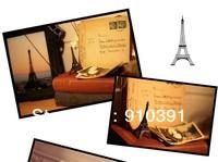 Free shipping,15cm France paris souvenir Retro metal crafts 3D Eiffel Tower,Bronze French la tour effel as personal collection.