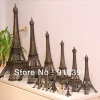 Free ship/EMS,15cm France paris souvenir Retro metal crafts 3D Eiffel Tower,Bronze French la tour effel as personal collection.