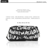 Bags Brand 2013 Gold Letters double zipper Lovely Cosmetic Bag Sweet Coin Purse Make Up Bag Free Shipping J034