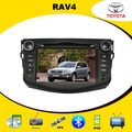 Car DVD Player for Toyota RAV4 with GPS Navigation Radio TV BT iPod USB/SD Russian OSD menu, Free Gift 4GB Navitel IGO Map