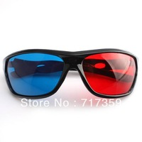 Free Shipping New Retail New Red Blue Cyan 3D Glasses 3 D Dimensional ay670074