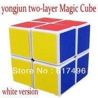 yongjun magic cube 2x2x2 high quality cube two-layer magic toys white version