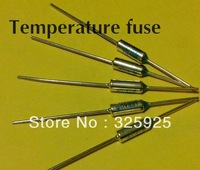 RoHS 169degrees 10A 250V  Thermal cutoff The metal shell thermal fuse Temperature fuse UL TUV VDE Free Shipping
