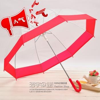 Apollo bubble transparent umbrella mushroom style rain umbrellas for sale + free shipping