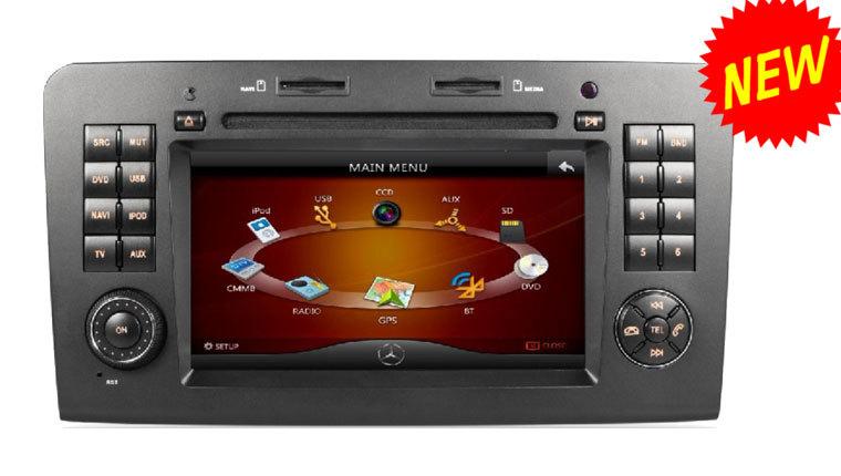 Cheap Benz ML CLASS W164 /ML300/ ML350 car dvd player with DVD/CD/MP3/MP4/Bluetooth/IPOD/Radio/TV/GPS! hot selling!(China (Mainland))