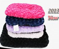 Free shipping,2013 new style Kitten Soft Fleece Dog mat bed house nest, multiple color send randomly, size S/M/L  10pcs/lot