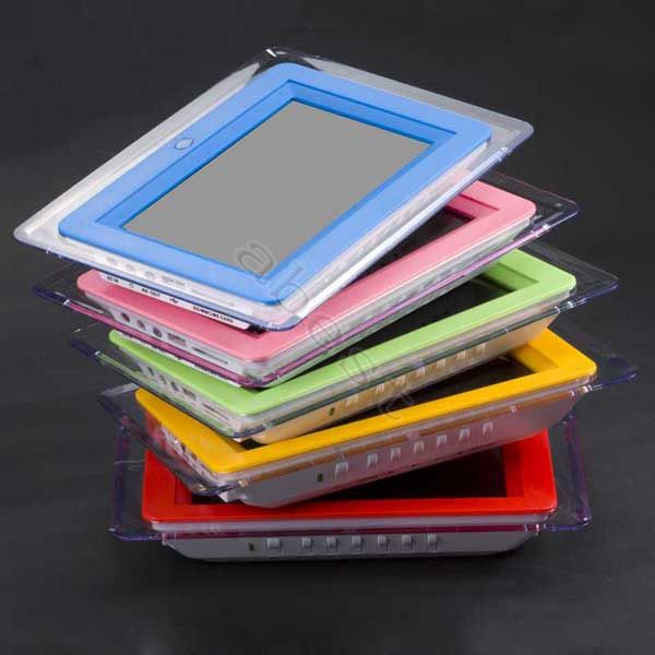 Brand new 7 inch digital photo frame with multi-functions with 4 led light +Remote control+User manual+AC/DC Adaptor(China (Mainland))