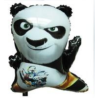 Free shipping  foil balloon party balloon animal shape Kongfu Panda helium balloon, Wholesale#Retail 100pcs a lot
