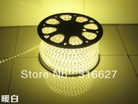 220V high power strip light 5050 SMD warm white color 60leds/M price include power connector