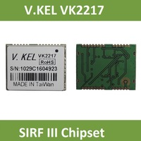 V.KEL VK2217 GPS module,SIRT III, SIRF 3 Chipset, GPS Tracker, GPS Receiver, RoHS, 32 Channels., 2.24CM*1.7*0.31