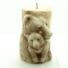 free shipping 1pcs bear shape candle Muffin case Candy Jelly Ice cake soap Chocolate Silicone Mould Mold