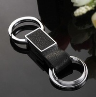 New arrive leather car keychain key chain Wedding and birthday gift CY4640 free shipping
