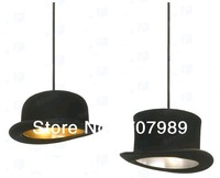 2 Lights New Modern Bowler/Tall Hat  Pendant Lamp Lighting Top Hat  fashion light free shipping