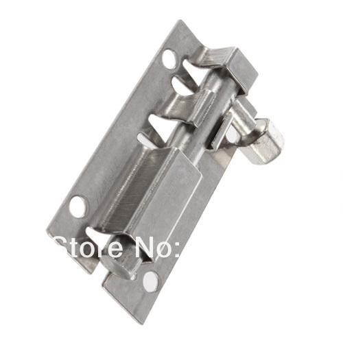 Stainless Steel Door Latch Barrel Bolt Latch Hasp Stapler Gate Lock Safety Hot Selling(China (Mainland))