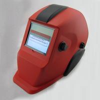 Ultraman apperance Li Battery+Solar auto darkening welding helmet/protect mask for MIG MAG CT TSC welding machine/plasma cutter