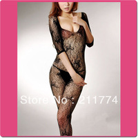 Женские толстовки и Кофты Sexy Crotchless Fishnet Bodysuit Red White Black All Sizes Bodystocking Bodysuit