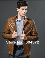 Leather Clothing Warm Fashion Motorcycle Leather Jackets Men Leather Special mens genuine leather jackets and coats