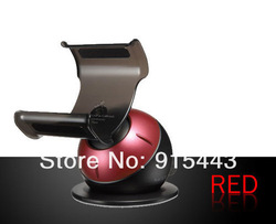 360 Degree Rotation SGP Kuel Mobile Car Holder Stand S20 For Iphone 5 4S 4, 5pcs/lot, Free Shipping(China (Mainland))
