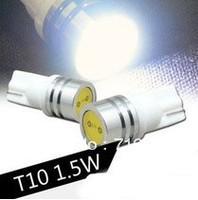 T10 1.5W LED Auto bubs Car 194 168 192 W5W Light Automobile Lamp Wedge Interior Light Free shipping 12pcs