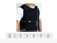 1pcs Kevlar Bullet Proof Vest Bulletproof Level IIIA Size