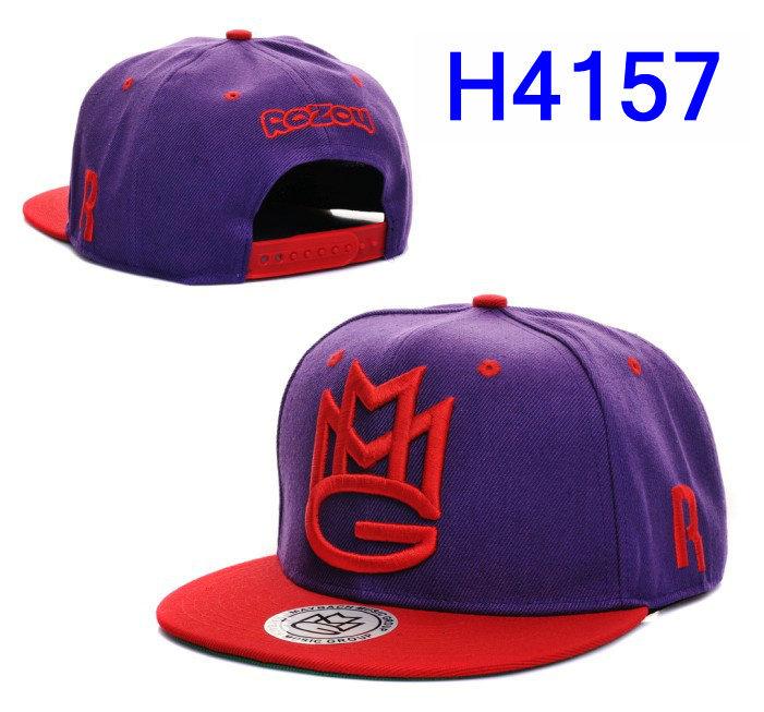 фиолетовый ММГ серии snapback шапки snapback