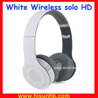 Free shipping white wireless soloo hdd headphones with bluetooth for iphone/ipad/ipod by DHL/EMS+AAAAA Quality