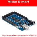 Free Shipping Mega1280  ATmega1280-16AU AVR Studying development Board Robot main Board 1 Mega1280 board + 1 USB Cable