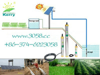 High quality DC Solar Powered deep well submersible water pump high pressure  M2480-30