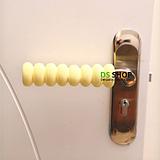 security door stopper rubber door stopper Spiral child baby door handle sets protective anti-collision set 2 colors