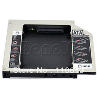 Second 2nd HDD Hard Drive Caddy For 12.7mm Universal CD/DVD-ROM Optical Bay SATA To SATA  8975