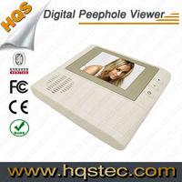 HQS-806 Video Peephole Door Camera with Door Bell Function