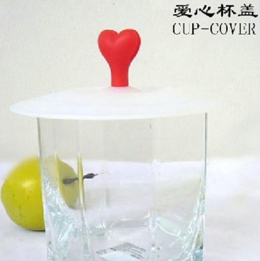 free shipping 10pcs 1007 magic love silica gel lid leakproof cup lid lid magic cup lid(China (Mainland))