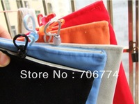 Free Shipping Wholesale 5PCS/LOT Protective  Pouch Pocket Case Cover Cotton Bag For Apple iPad Mini ipad 2 3