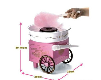 hot Sell Nostalgia Cotton Candy Maker Machine 220V/110V do it by buyerself 1piece