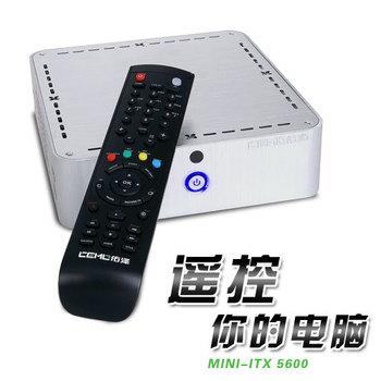 5600 mini computer case mini-itx htpc mini pc desktop belt remote control band power supply set
